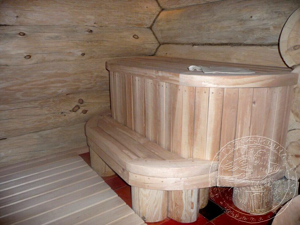 Деревянную баню своими руками 60