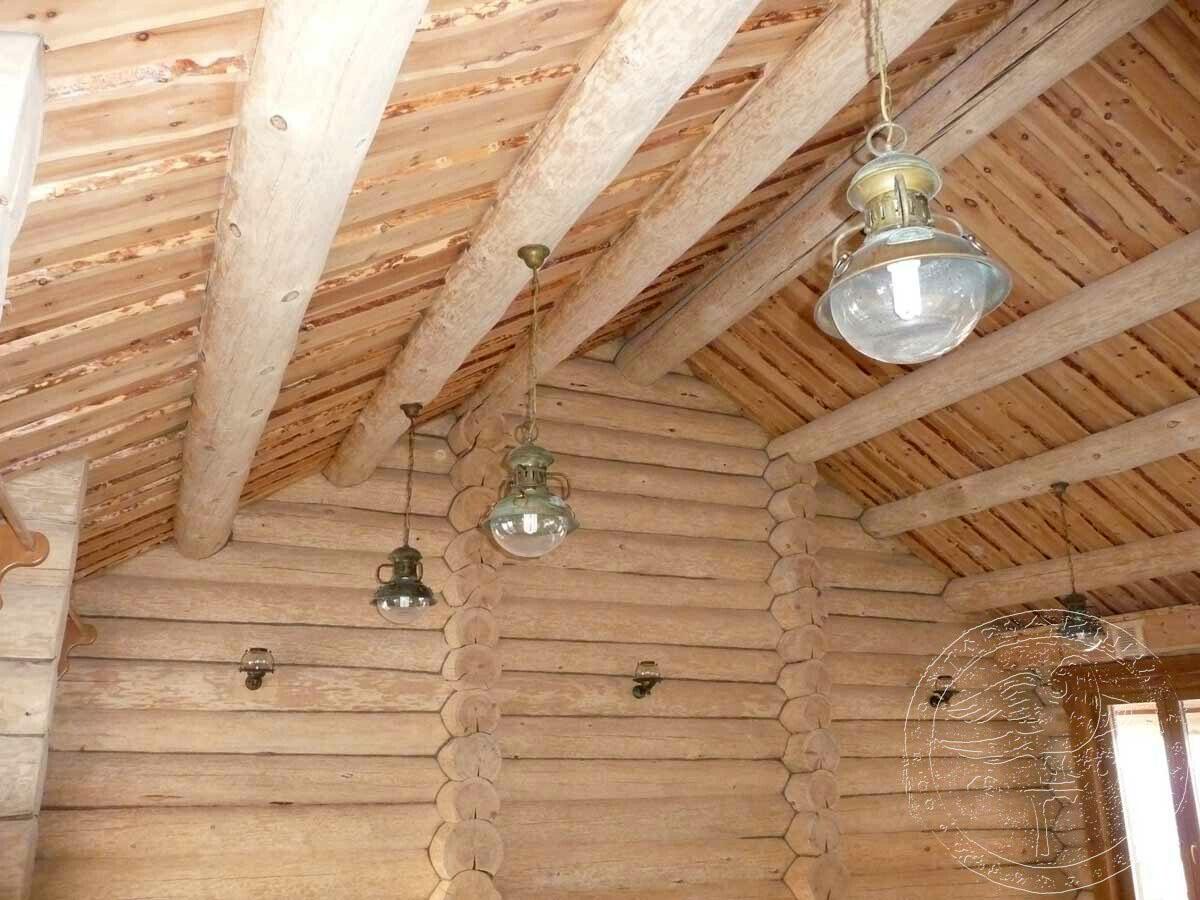 Как сделать потолок из евровагонки? Конструкция 94