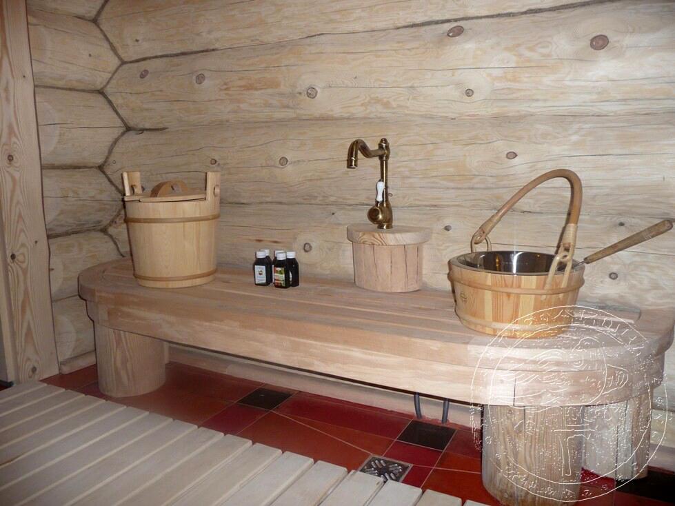Моечная в бане своими руками 5