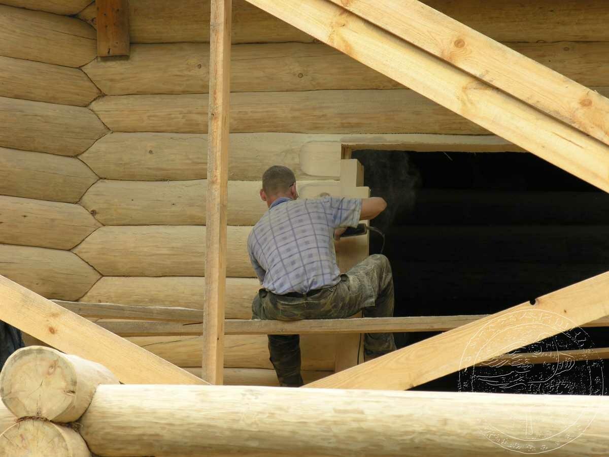 Окосячка окон в деревянном доме. Как сделать окосячку своими 37